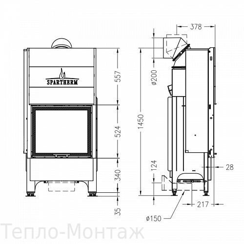 Spartherm Varia M-60h 4S